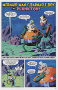 Mermaid Man & Barnacle Boy vs. Plankton! Page 1