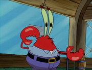 Mr. Krabs Hearing The Boots