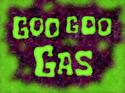 Goo Goo Gas title card
