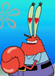 Mr. Krabs with Heart Pupils2