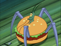 Plankton in Krusty Krab Training Video-1