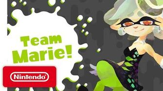 Splatoon - Marie Solo Music Video (Tide Goes Out)-2