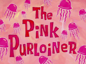 The Pink Purloiner title card