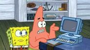 Wait Spongebob! We have technology!