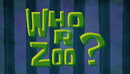 Who R Zoo?