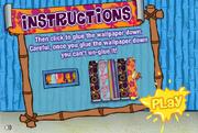Decorating Dilemma - Instructions screen