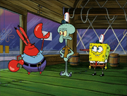 Mr.Krabs in Graveyard Shift-4