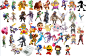 Smash Bros roster maker round 3 fighters - KKirby