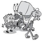 SpongeBob-Pearl-Krabs-Squidward-movie-set