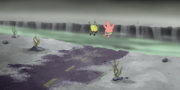SpongeBob Jumping Down Into The Trench