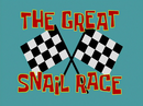 The Great Snail Race title card