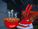 Krosse Krabbe Pizza