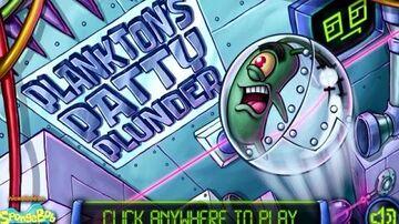 SpongeBob SquarePants Planktons Patty Plunder