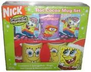 Spongebob Hot Cocoa Mug set