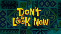 Don't Look Now title card