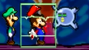 Mario tormented by a scanner
