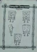 SpongeBob Turnarounds Closed Mouth
