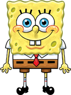 SpongeBob normal oil-painted stock art