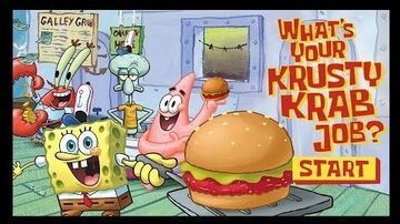 SpongeBob SquarePants - What's Your Krusty Krab Job?