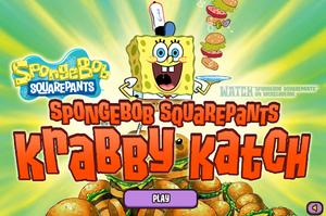 Krabby Katch old title screen