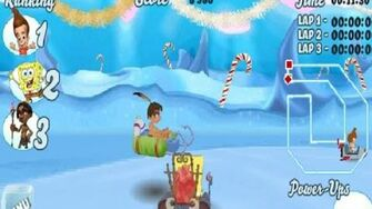 Nicktoons Snow Kart Rally Game