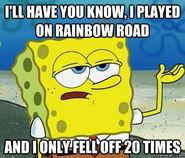 SpongeBobRainbowRoadMeme