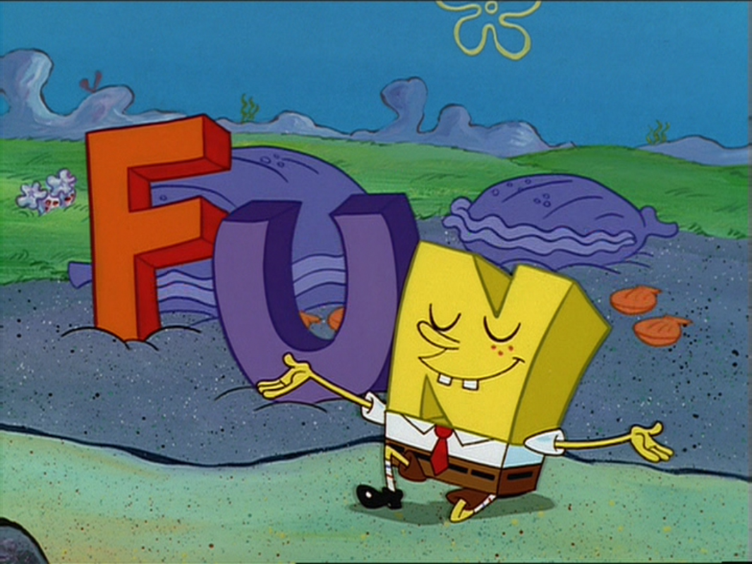 The F U N  Song | Encyclopedia SpongeBobia | FANDOM powered