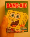 SpongeBob Band aid box