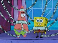 Патрик и губка боб в ловушке навсегда