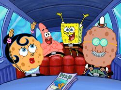 A SquarePants Family Vacation artwork