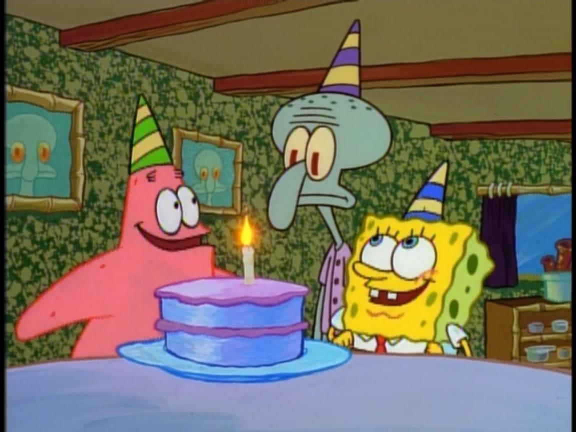 Happy Birthday, Squidward! | Encyclopedia SpongeBobia ...