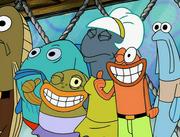 Sandy, SpongeBob, and the Worm 027