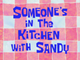 Someone's in the Kitchen with Sandy/gallery