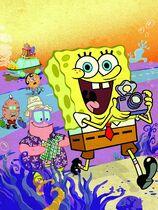 SpongeBob's Runaway Roadtrip textless cover
