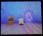 SpongeBob's TV in SpongeBob's Atlantis SquarePantis DS version