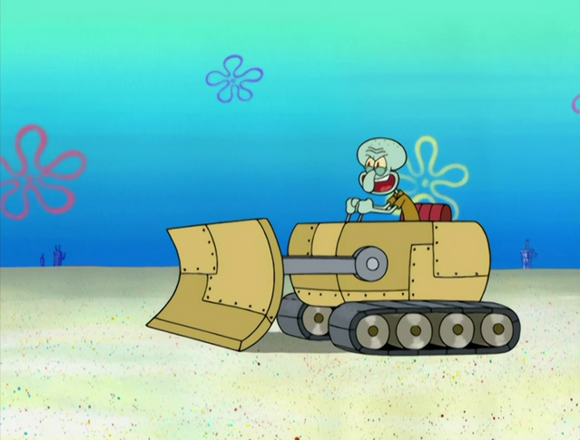 File:Squidward's Bulldozer in Big Sister Sam.png