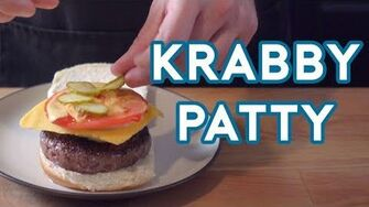 Binging with Babish Krabby Patty from Spongebob Squarepants