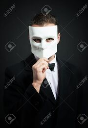 Dude with a mask
