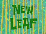 New Leaf title card