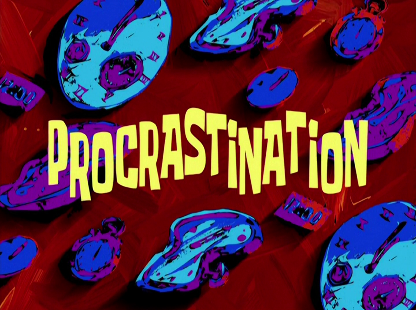 procrastination | encyclopedia spongebobia | fandom powered by wikia