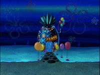 SpongeBob's pineapple house in Season 3-5