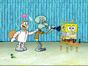 Squidward Plays His Clarinet and the Earworm Leaves 10