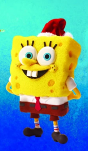 It's a SpongeBob Christmas Spongebob