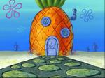 SpongeBob's pineapple house in Season 7-3