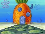 SpongeBob's pineapple house in Season 7-3