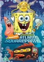 Atlantis SquarePantis New DVD