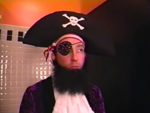 Patchy sparkly eyepatch