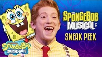 """Ethan Slater Sings """"Best Day Ever"""" from The SpongeBob Musical Live on Stage! SpongeBob"""