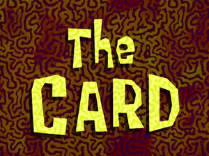 The Card title card