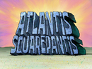 Atlantis SquarePantis title card